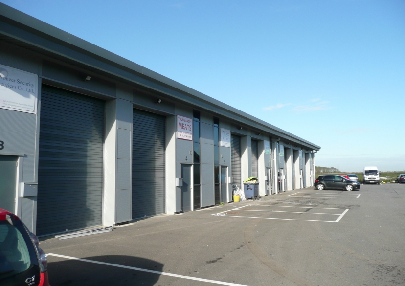 North Park Lincoln >> Light industrial units, Sleaford - XL Architects LLP